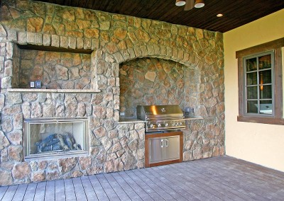 Covered Grill Area