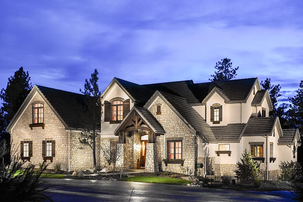 castle pines village denver custom homes