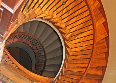 3 Story Spiral Staircase
