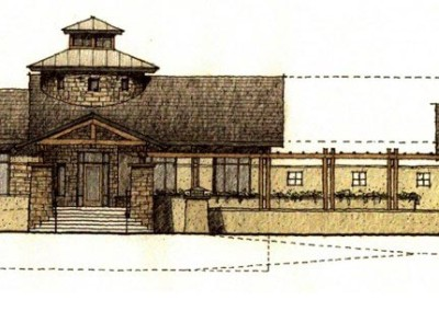 Columbine Valley Town Hall Rendering