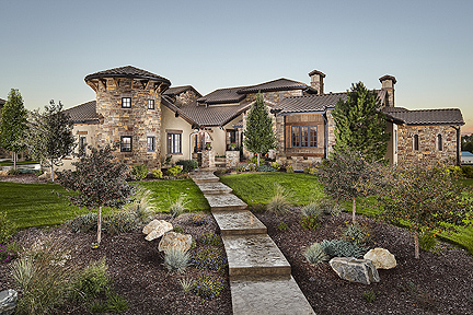 Parker colorado custom home