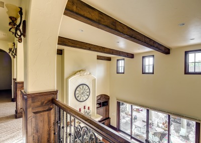 Family Room and Ceiling Detail