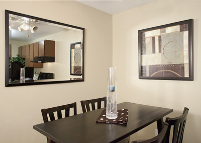Edge Apartments Dining Room