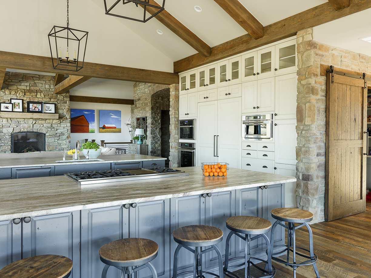 Homestead Kitchen And Family Room