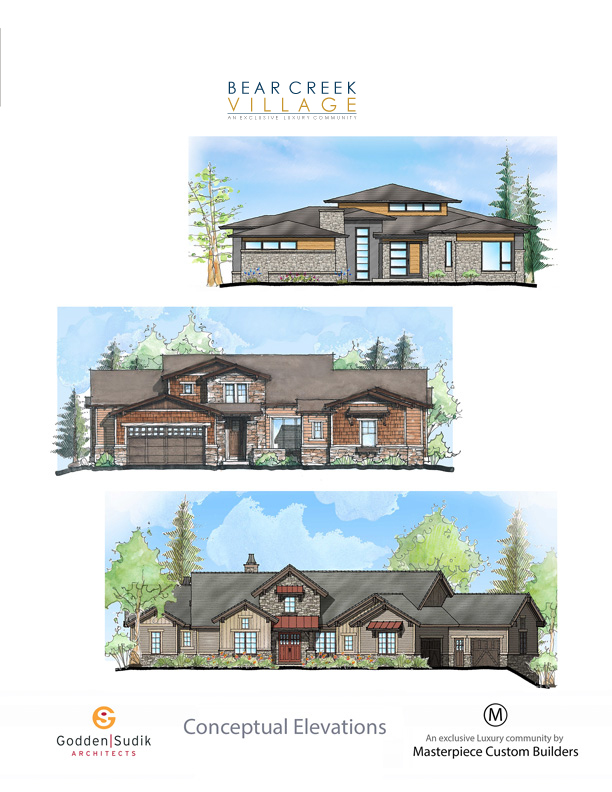 bear creek village elevations