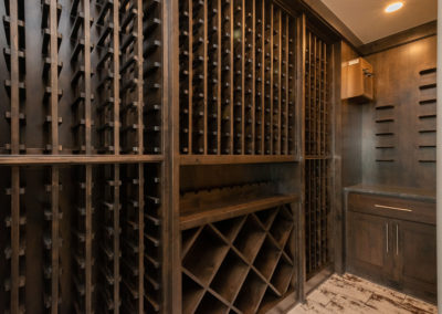 Colorado Golf Club Peregrine wine room