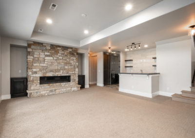 Colorado Golf Club Peregrine basement rec room