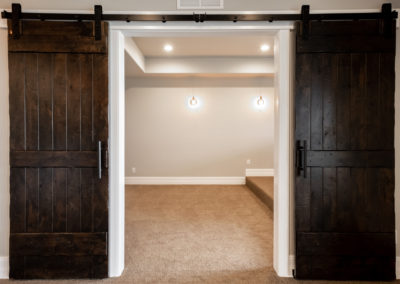 Colorado Golf Club Peregrine barn doors