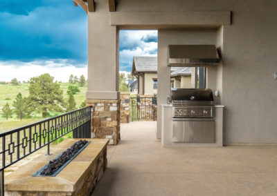 Colorado Golf Club Peregrine patio