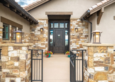 Colorado Golf Club Peregrine front entry
